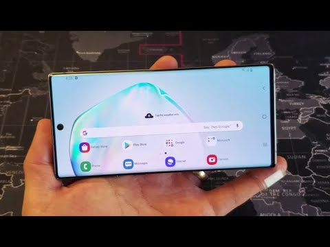 Note 10 wont auto rotate