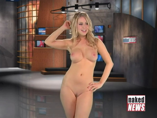 Nude newscasters